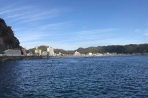 内浦海水浴場(千葉県鴨川市)