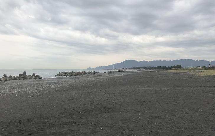 同じぐらいの位置から西側の風景