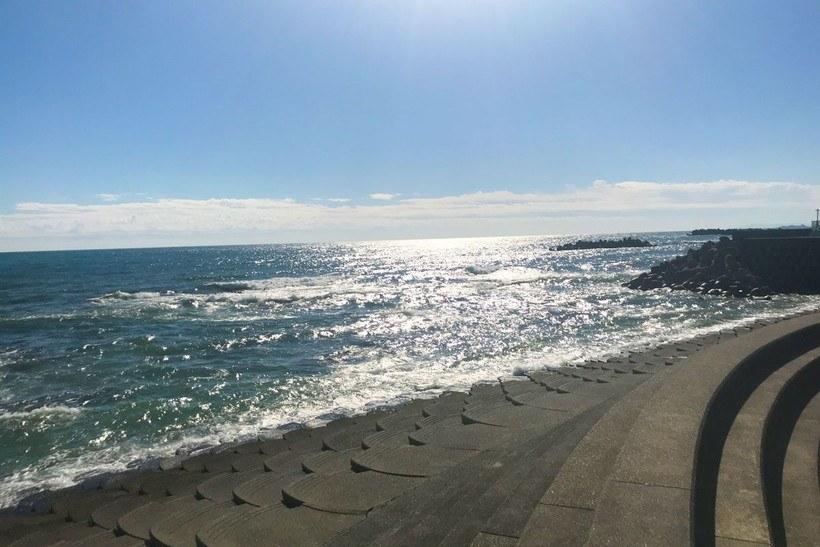 城崎海水浴場・サーフの風景