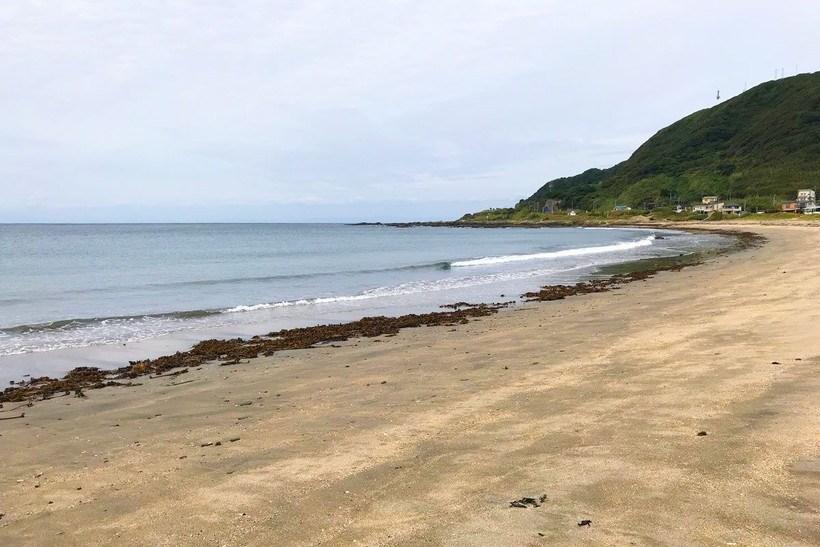 根本海岸の風景写真