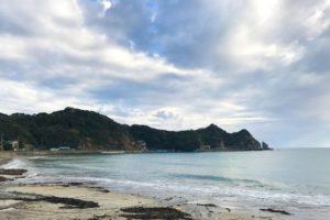 鵜原海水浴場(千葉県勝浦市)