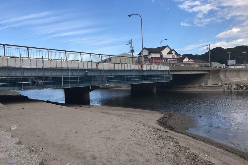 大風沢川河口