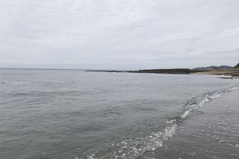 布良海岸の右側