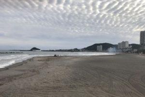 前原海岸海水浴場(千葉県鴨川市)