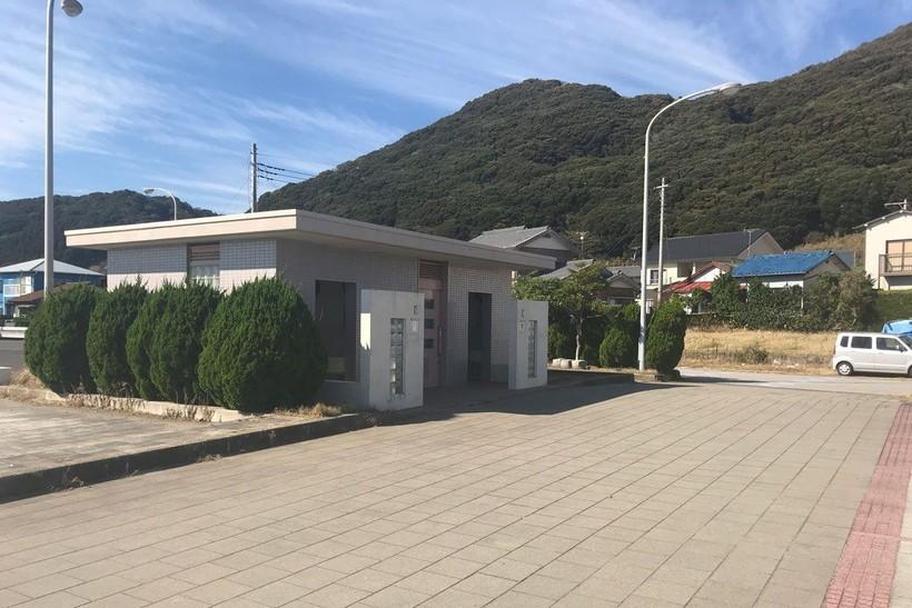 城崎海水浴場のトイレ