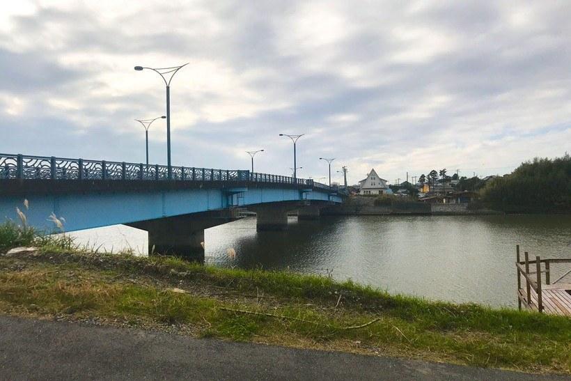 いすみ川河口より1つ目の橋