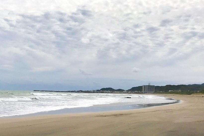 アオリイカの釣れるサーフと釣れないサーフ