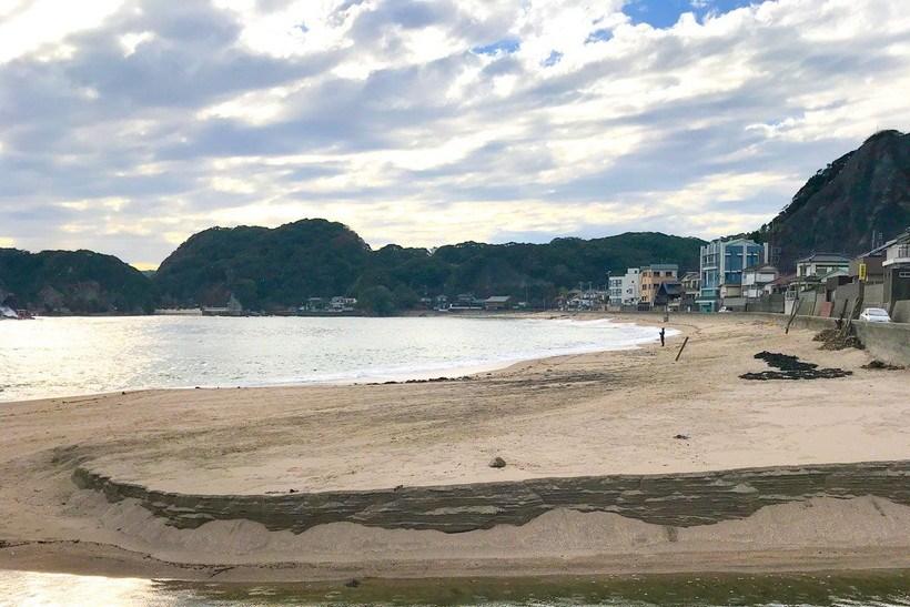 守谷海水浴場(千葉県勝浦市)