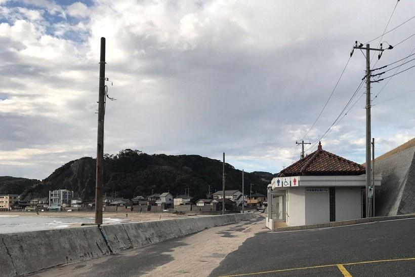 守谷海水浴場・海岸のトイレ