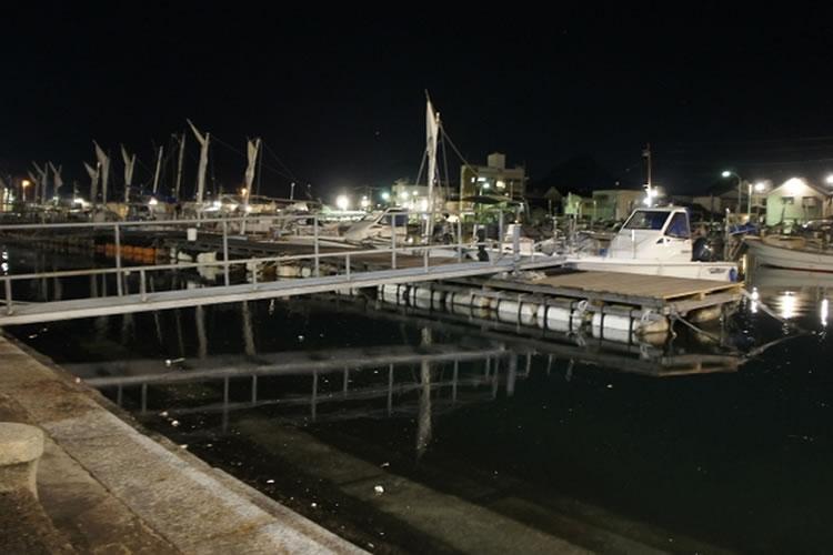 夜はサーフなどよりも漁港や河口